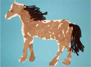 Craft Ideas Horses on Back To Top Of Page
