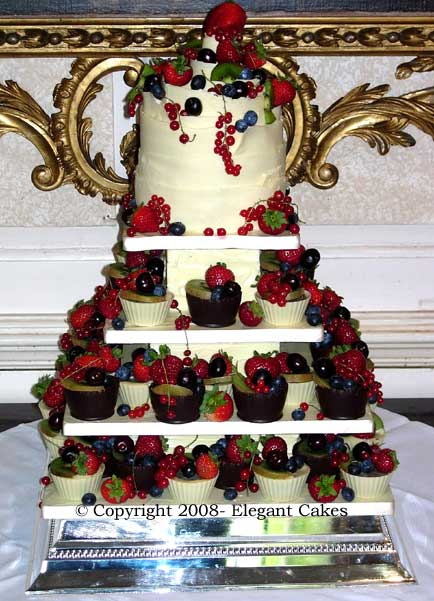 Waitrose Cake Design Competition : Wedding Cake Gallery - Allegra