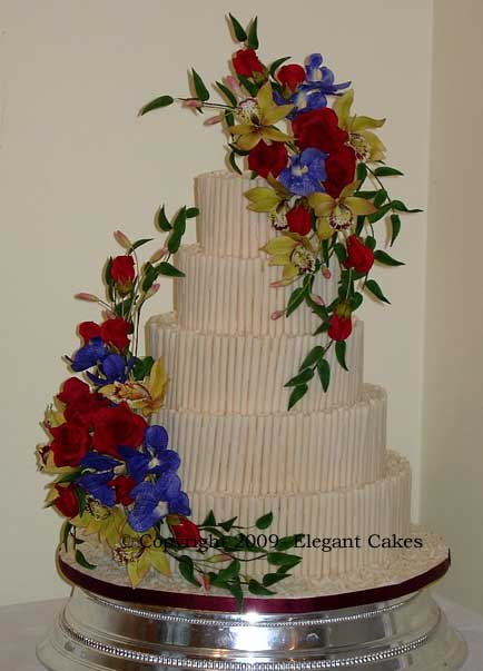 Waitrose Cake Design Competition : Wedding Cake Gallery - Kai