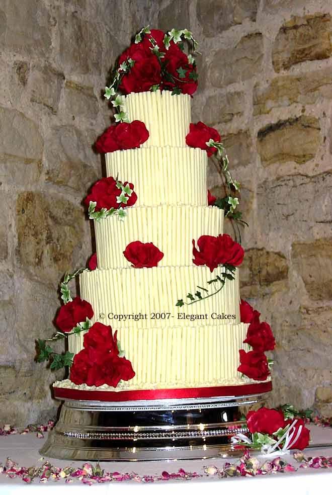 Ruby Wedding Cake Waitrose