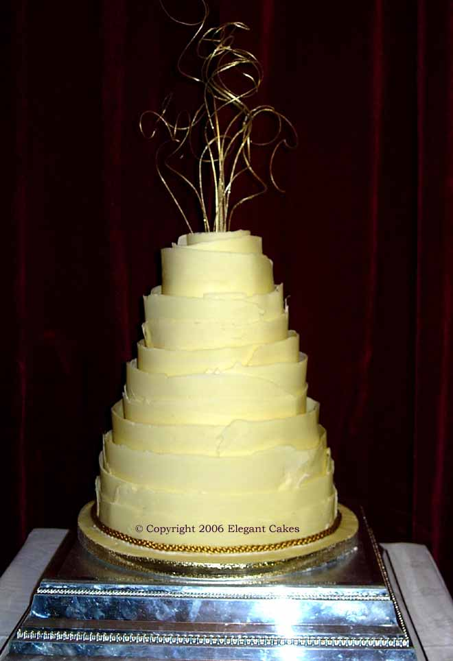 Chocolate Wedding Cake Gallery - Ophelia
