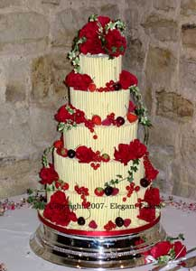 Waitrose Cake Design Competition : Wedding Cake Gallery - Tia