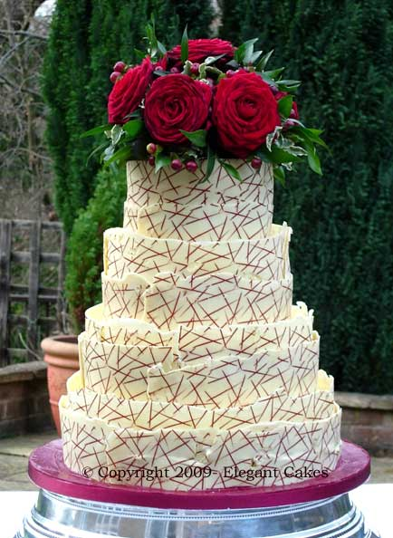 Xenias Cake Designs : Wedding Cake Gallery - Xenia