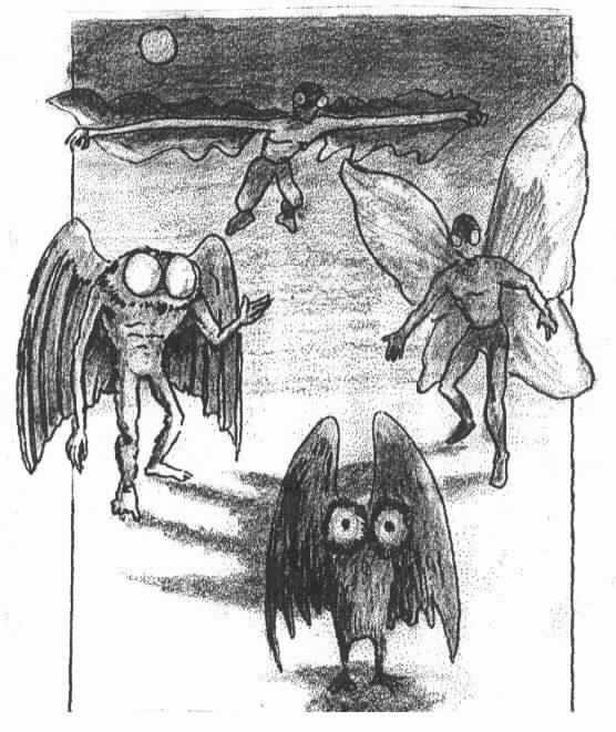 1000  ideas about Mothman on Pinterest | UFO, Flatwoods monster ...