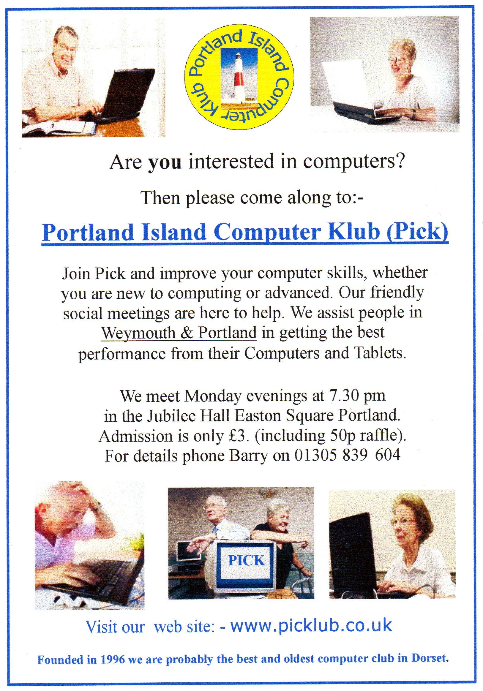 PORTLAND ISLAND COMPUTER CLUB