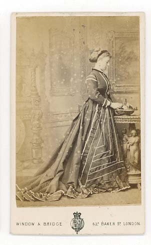 G Bruce Dunse J Kirkwood 10th June 1867 Standing Lady Front Back P Hudson 18 Paragon Street Hull Smart Young C1873